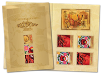 Hungary - Stamp day - Presentation with special stamps