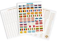 Etiquettes Set pour pièces d'Euros