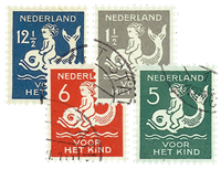 Netherlands 1929 - NVPH 225-228 - Cancelled