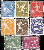Netherlands 1928 - NVPH 212-219 - Unused