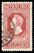 Netherlands 1913 - NVPH 98 - Cancelled