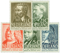 Netherlands 1939 - NVPH 318-322 - Unused