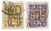 Netherlands 1923 - NVPH 132-133 - Cancelled