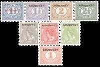 Nederland 1913 - Nr. D1-D8 - ongebruikt