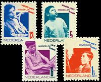Netherlands 1931 - NVPH 240-243 - Unused