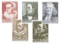 Nederland - Zomerzegels 1938 (nr. 305-309, ongebruikt)