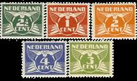 Netherlands 1924-1925 - NVPH 144-148 - Mint