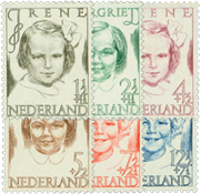 Netherlands 1946 - NVPH 454-459 - Mint