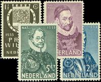 Nederland 1933 - Nr. 252-255 - Postfris