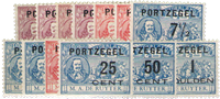Netherlands 1907 - NVPH P31-P43 - Unused