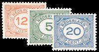 Nederland 1921-1922 - Nr. 107-109 - Postfris