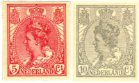 Netherlands 1923 - NVPH 82-83 - Unused