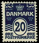 Danmark 1912 - AFA nr.66a - Ubrugt