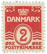 Danmark 1933 - AFA nr.197 - Postfrisk