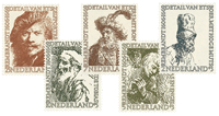 Netherlands 1956 - NVPH 671-675 - Mint