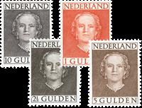 Netherlands 1949 - NVPH 534-537 - Mint