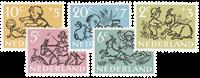 Netherlands 1952 - NVPH 596-600 - Mint
