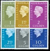 Nederland - Koningin Juliana Regina (Fosfor) (nr. 952b-958b, postfris)