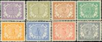 Netherlands 1902-1909 - NVPH 40-47 - Mint