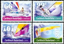 Caribbean Netherlands - Sejlsport - Postfrisk sæt 4v