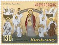 Hungary - Christmas'12 - Mint stamp