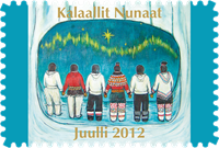 Greenland - Christmas Seal 2012 - Christmas Seal Sheet