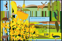 Germany - National park Eifel 2009 - Mint souvenir sheet
