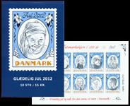 Danmark - Julemærket 2012 - Postfrisk hft/10