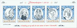 Danmark - Julemærket 2012 - Postfrisk mega ark