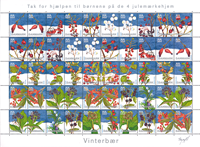 Denmark - Christmas sheet 2004