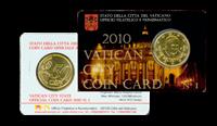 Vatican City - Coincard no. 1 2010
