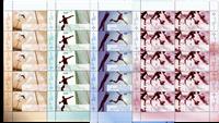 Tyskland - Sportsvelgørenhed - Postfrisk sæt 10-ark