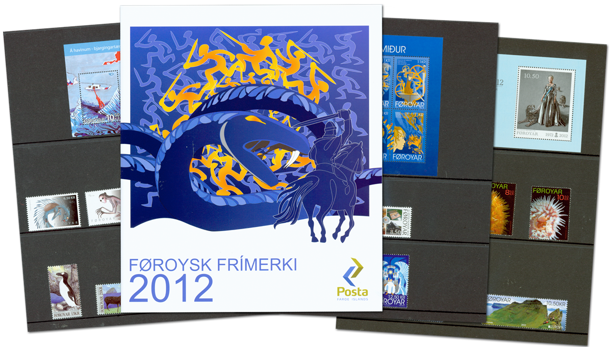 Færøerne - Årsmappe 2012 - Flot årsmappe