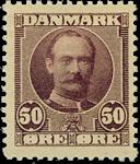 Danmark 1907 - AFA nr.58 - Ubrugt