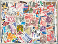 Denmark 700 different stamps