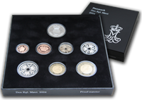 Dinamarca - Serie Monedas PROOF 2004