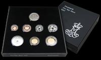 Danmark Proof møntsæt 2007