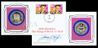 ELVIS - 5 Dollar Møntbrev 1995