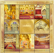 Hungary - Parliament building - Mint souvenir sheet
