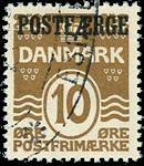Danmark 1930 - AFA nr.12 - Stemplet