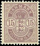 Danmark 1901-02 - AFA nr.38 - Postfrisk