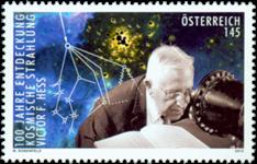 Østrig - Kosmisk stråling - Postfrisk frimærke