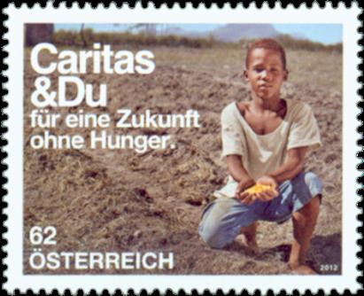 Østrig - Caritas - Postfrisk frimærke