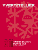 Yvert stamp catalogue - Overseas L-N, 2008