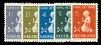 Netherlands 1940 - NVPH 374-378 - Mint