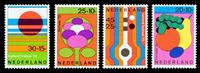 Netherlands 1972 - NVPH 1003-1006 - Mint