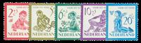 Netherlands 1950 - NVPH 563-567 - Mint