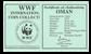 Oman - Gazelle WWF - Flot sølvmønt proof kvalitet med tekstkort og ægthedsbevis
