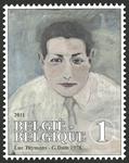 Belgien - Luc Tuymans - Postfrisk frimærke