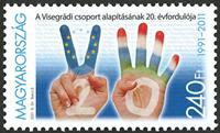 Ungarn - Visegrádi - Postfrisk frimærke